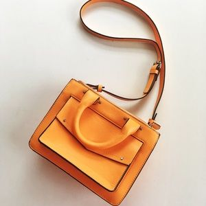 Zara Orange Purse